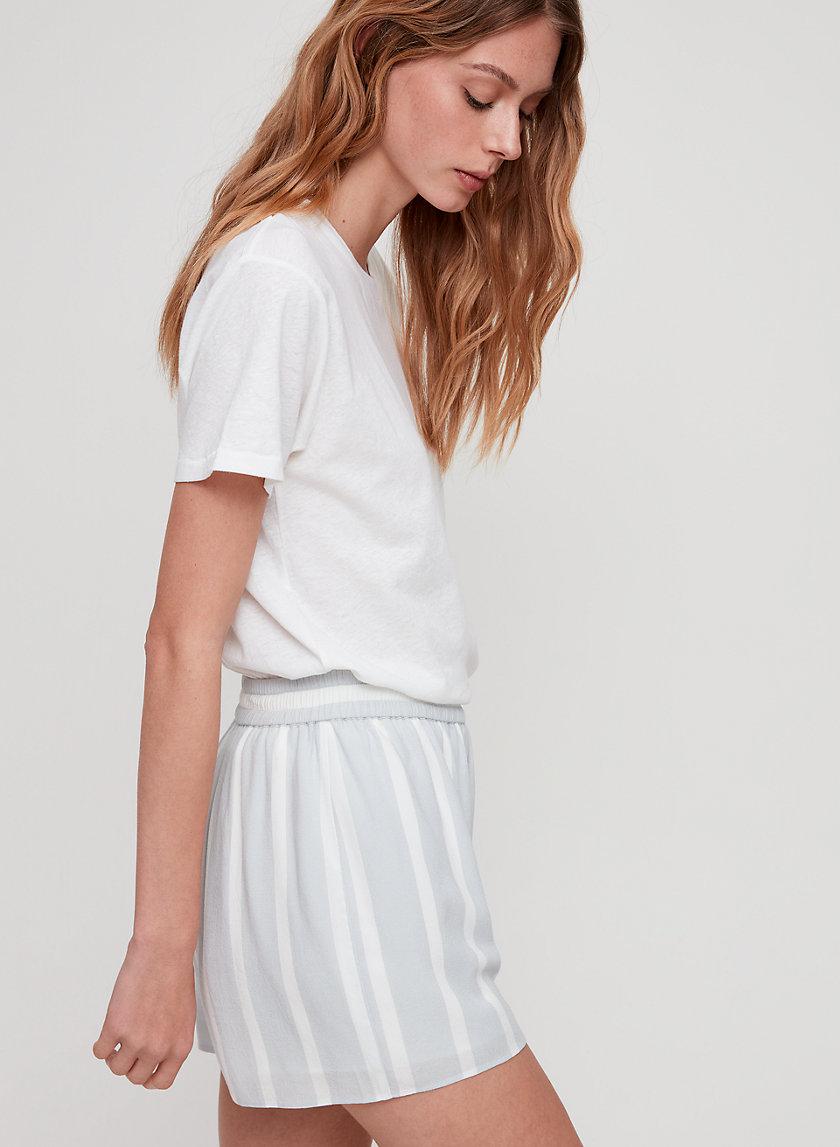 ZOLA SHORT - Striped Shorts