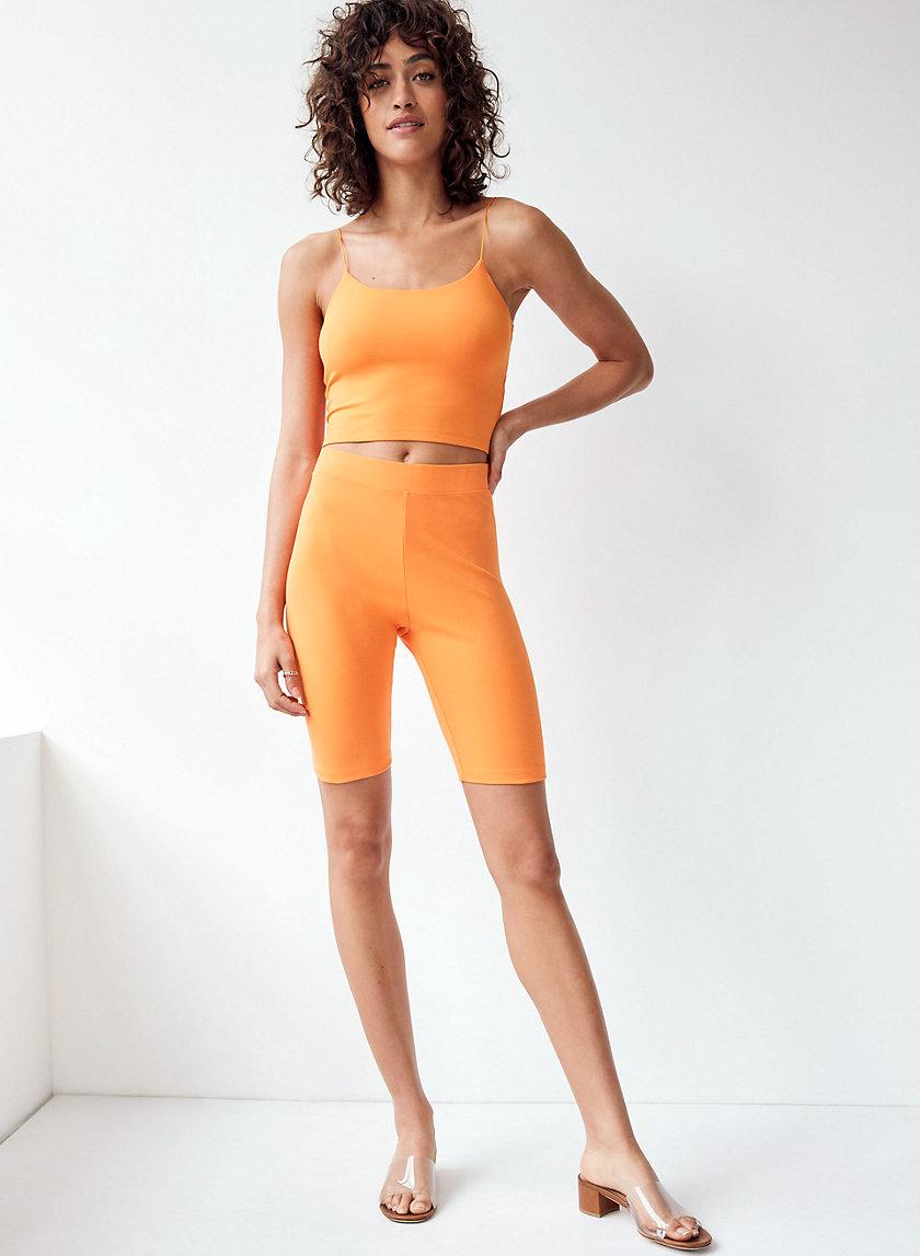 NIA SHORT - High-waisted bike shorts
