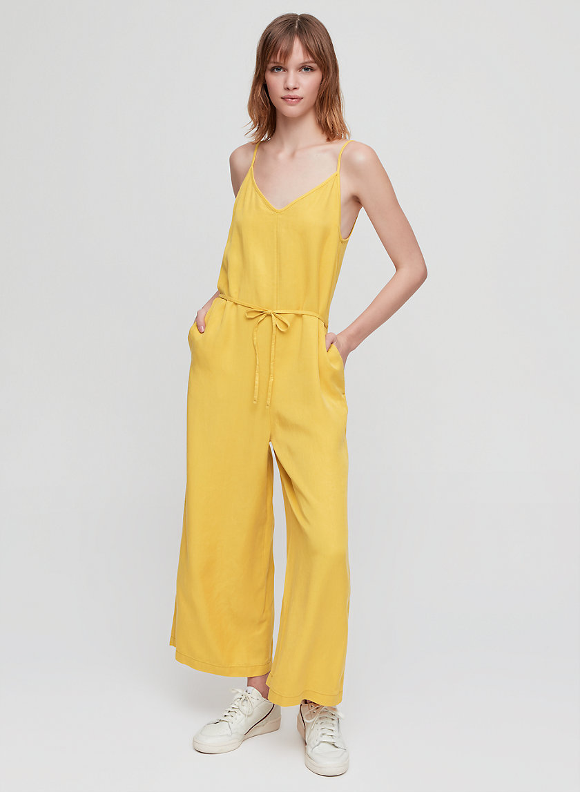 KAILEY JUMPSUIT - Cropped, wide-leg jumpsuit