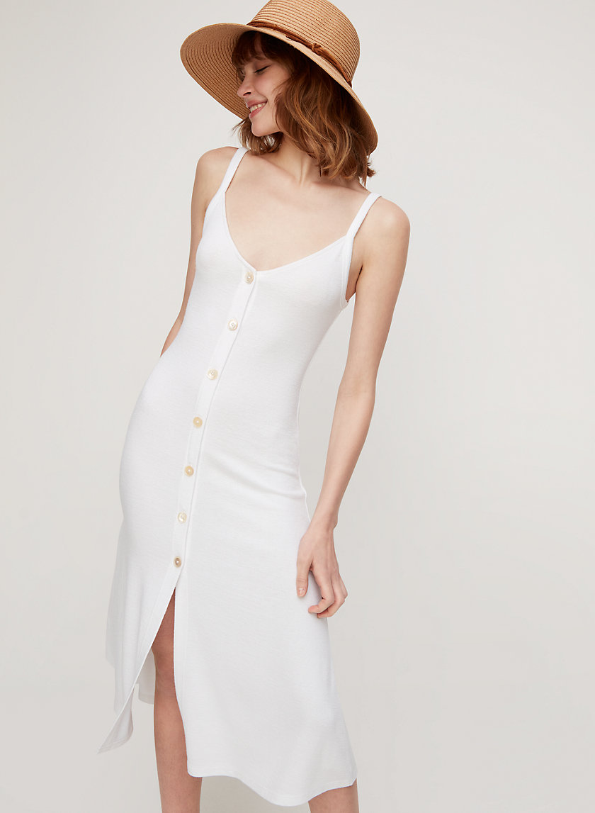MAIRI DRESS - Button-front midi dress