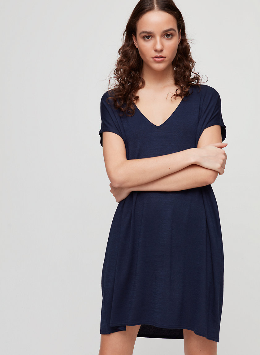 MARCOUX DRESS - Relaxed t-shirt dress with pockets