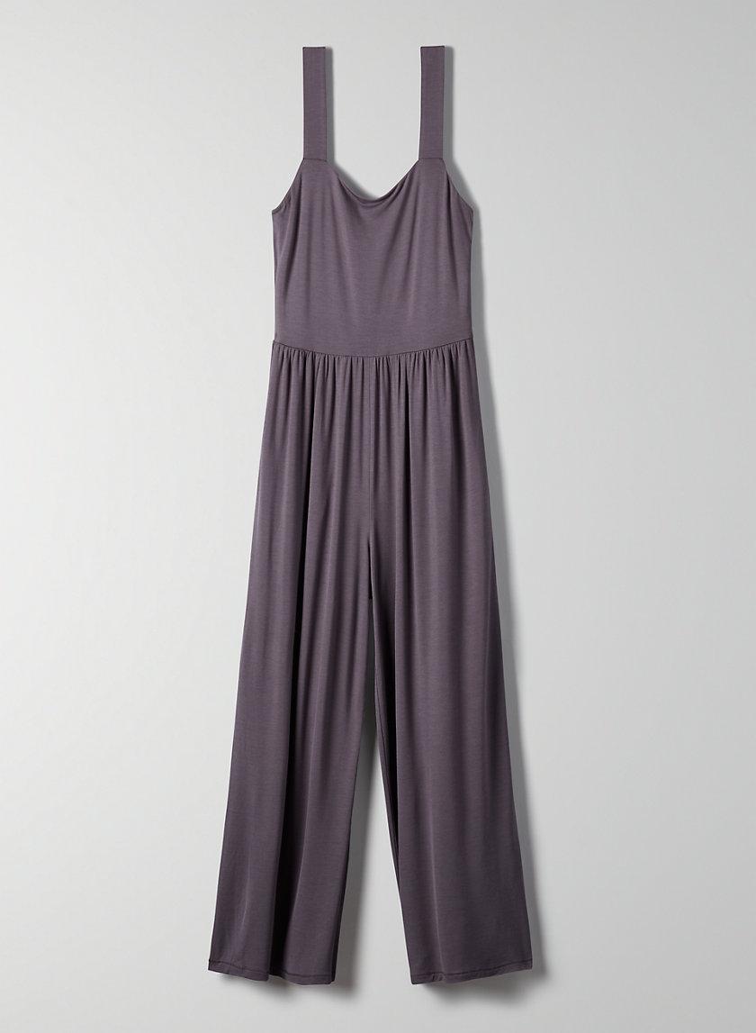 ASSONANCE JUMPSUIT - Cropped, wide-leg jumpsuit