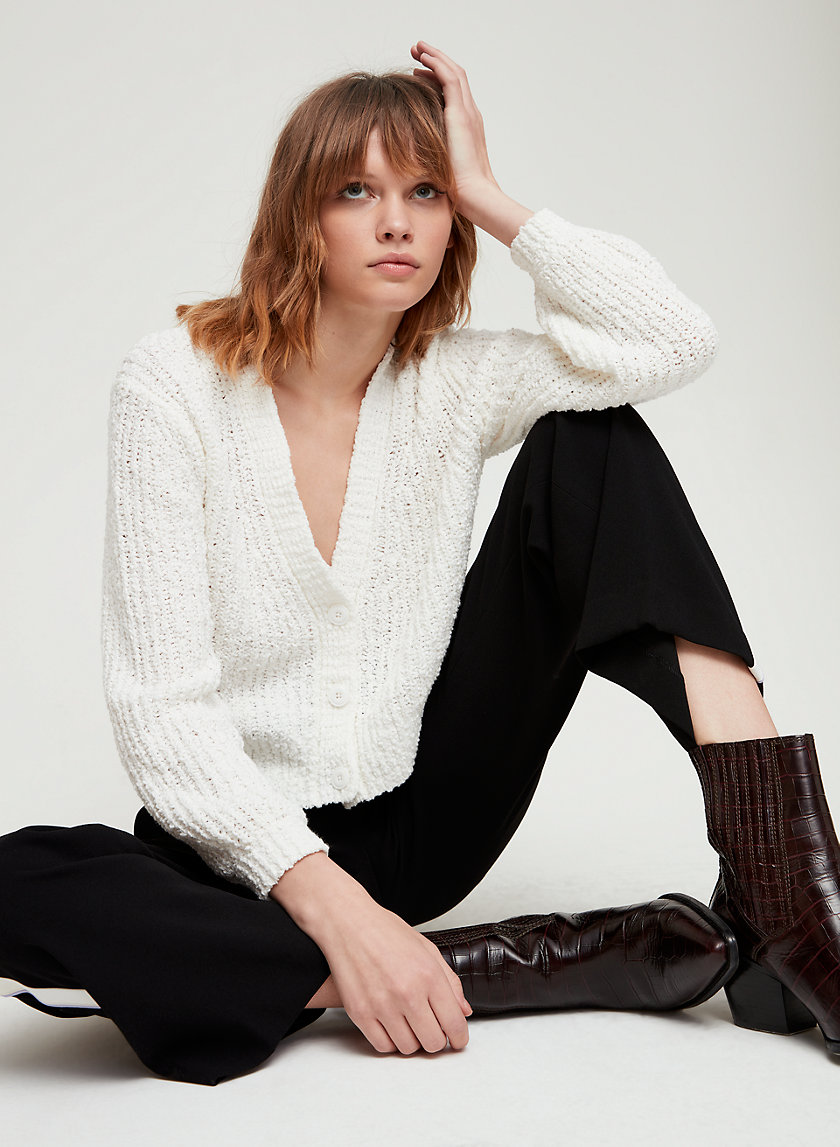 Little Moon BASIL CARDIGAN | Aritzia