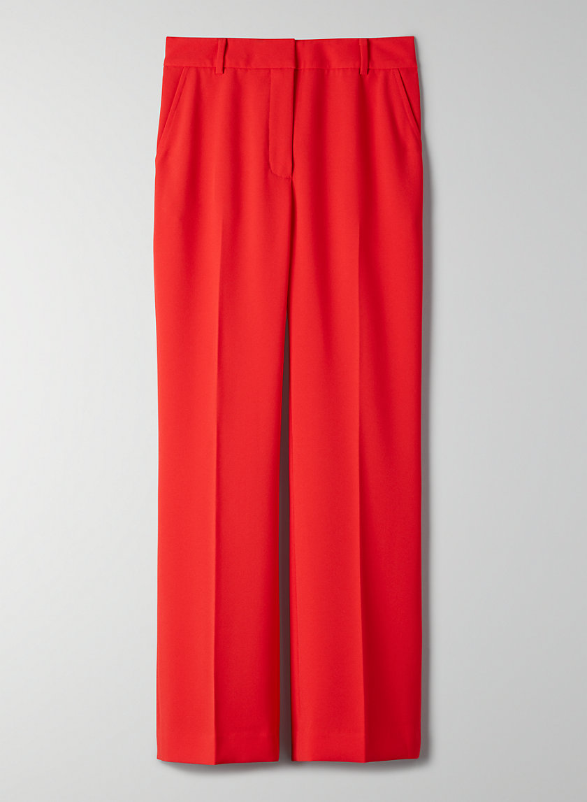 CLOVER PANT - High-waisted, flared trousers
