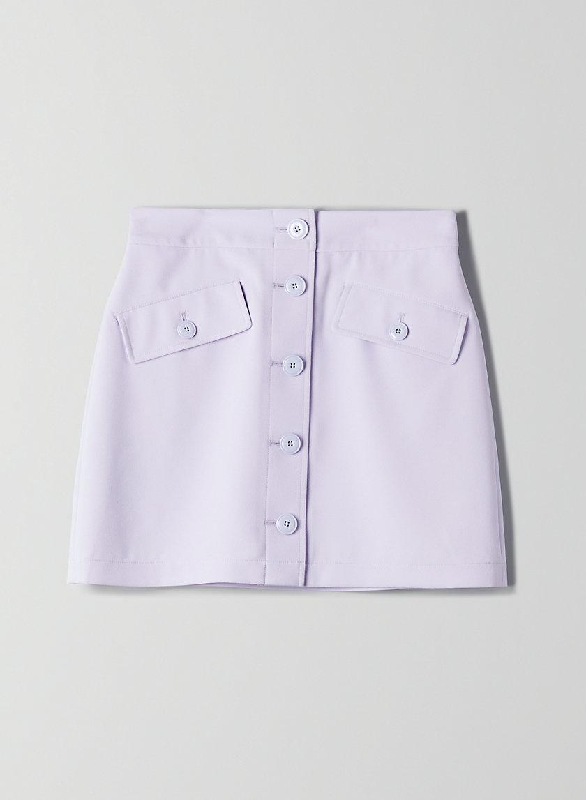 FREESIA SKIRT - Button-front mini skirt