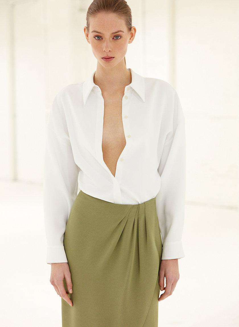 AADYA BLOUSE - Voluminous, button-down blouse