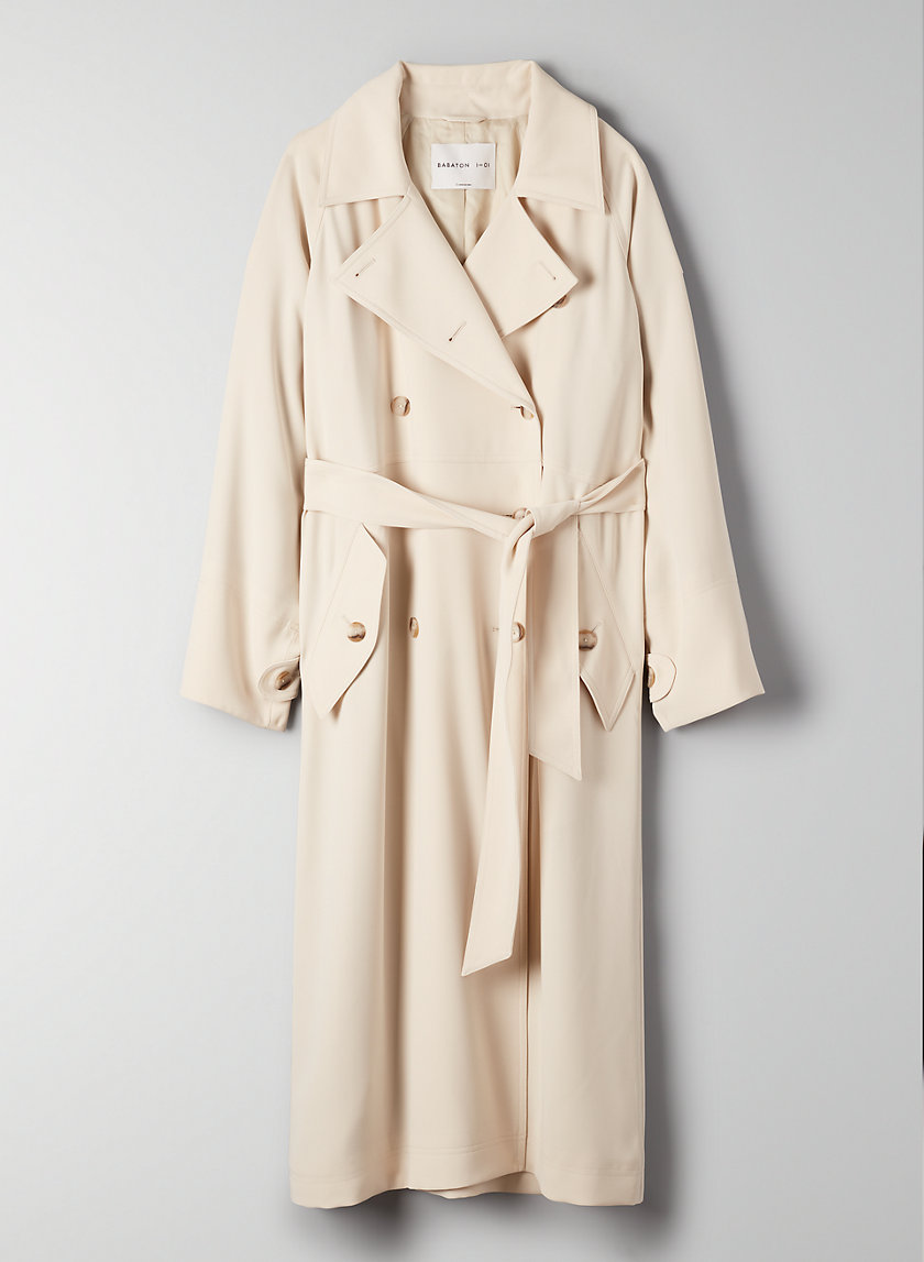 TAREK COAT - Double-breasted trench coat