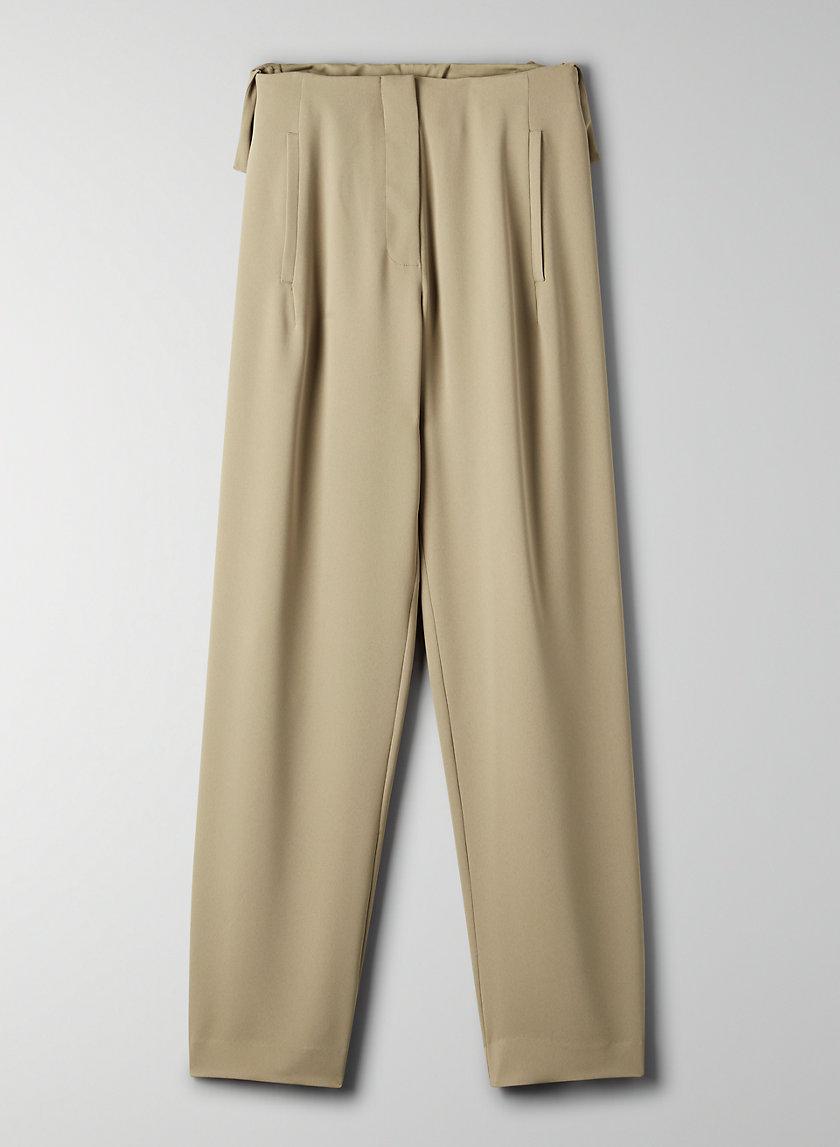 JEMIMA PANT - High-waisted, ruffled pant