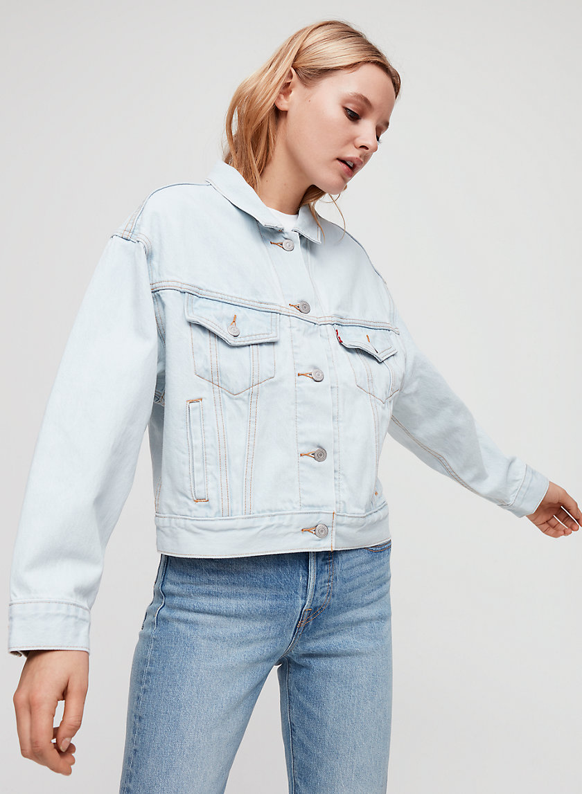 SLOUCH TRUCKER - Relaxed denim jacket