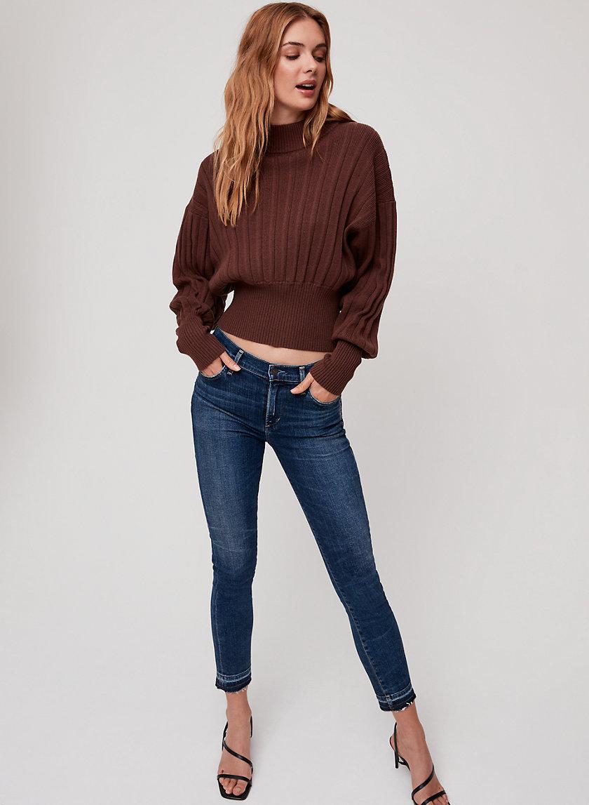 ROCKET CROP WEEKENDER - High-waisted skinny jean