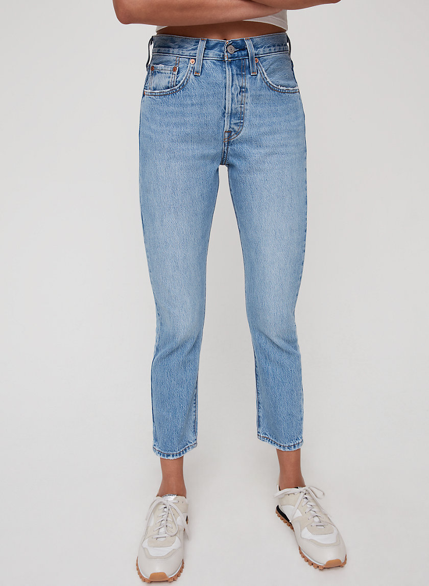 501 SKINNY - Cropped, high-waisted skinny jean