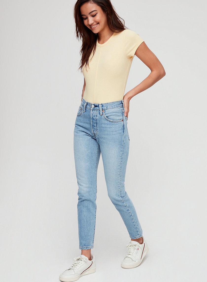501 SKINNY - High-rise skinny jean