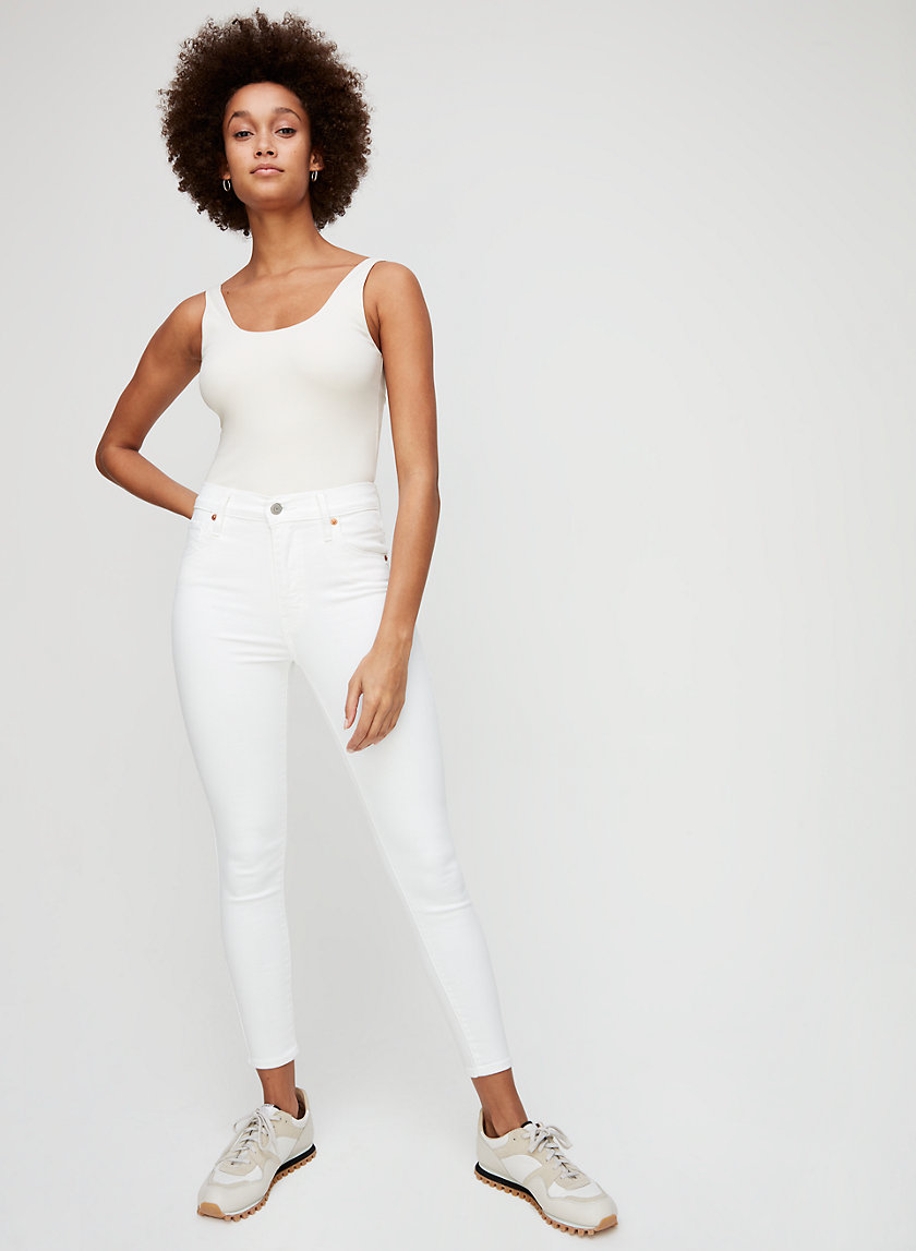 MILEHIGH SKINNY ANKLE - Cropped, high-waisted jean