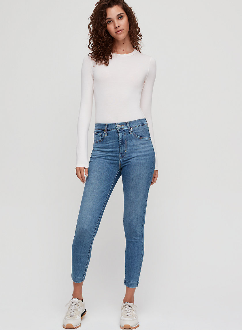 MILEHIGH SKINNY ANKLE - Cropped, high-waisted skinny jean