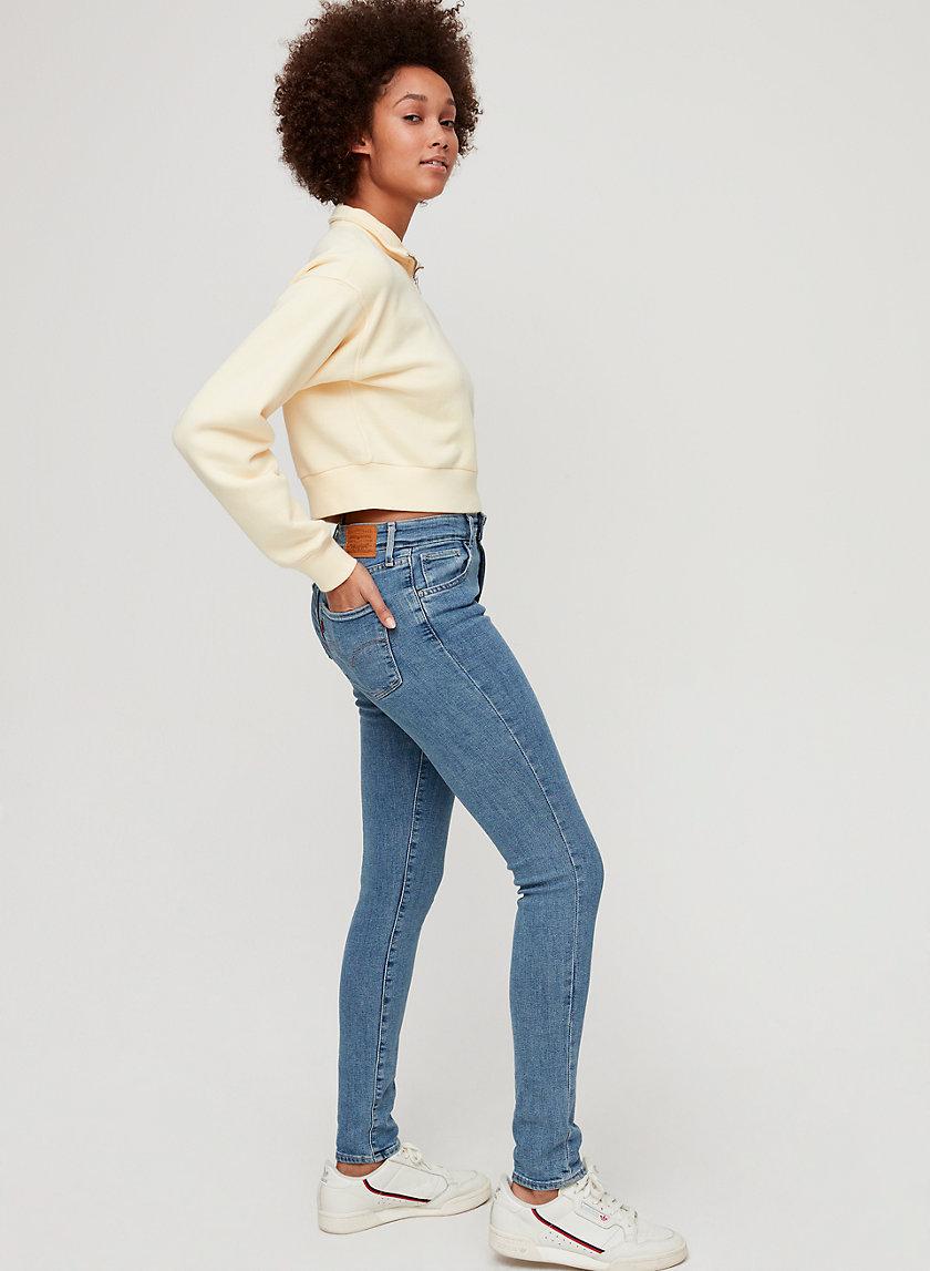 721 SKINNY - Mid-rise, skinny jean