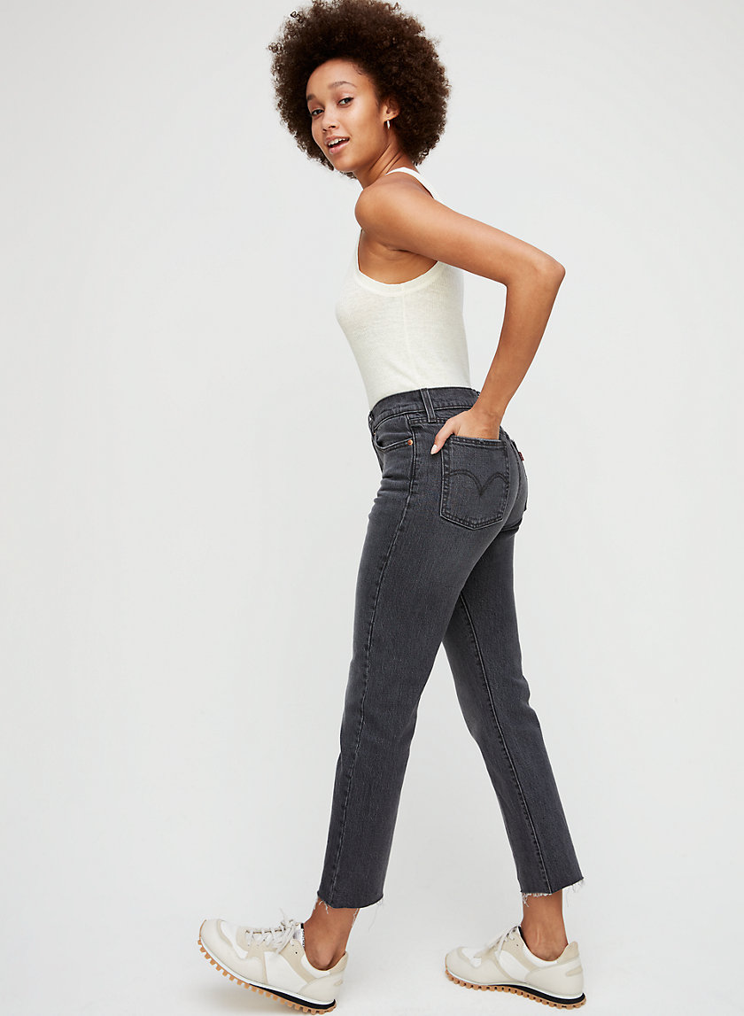 WEDGIE STRAIGHT - High-waisted, straight-leg jean