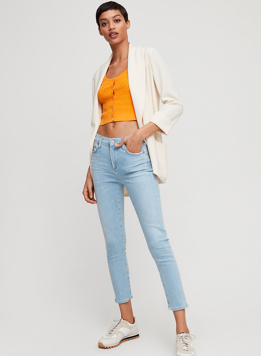 ROCKET CROP PANTHEON - Cropped, skinny jean