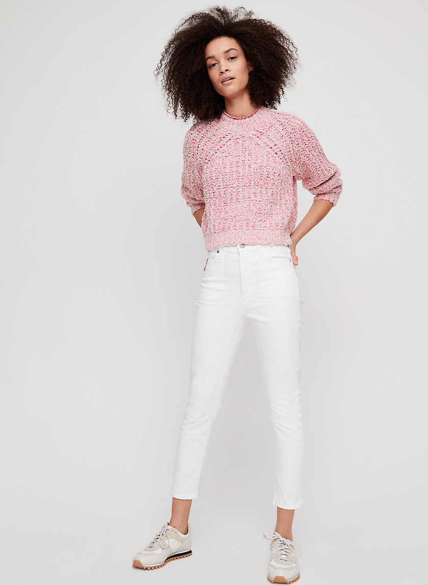 OLIVIA CROP UNVEIL - Cropped, high-waisted skinny jean