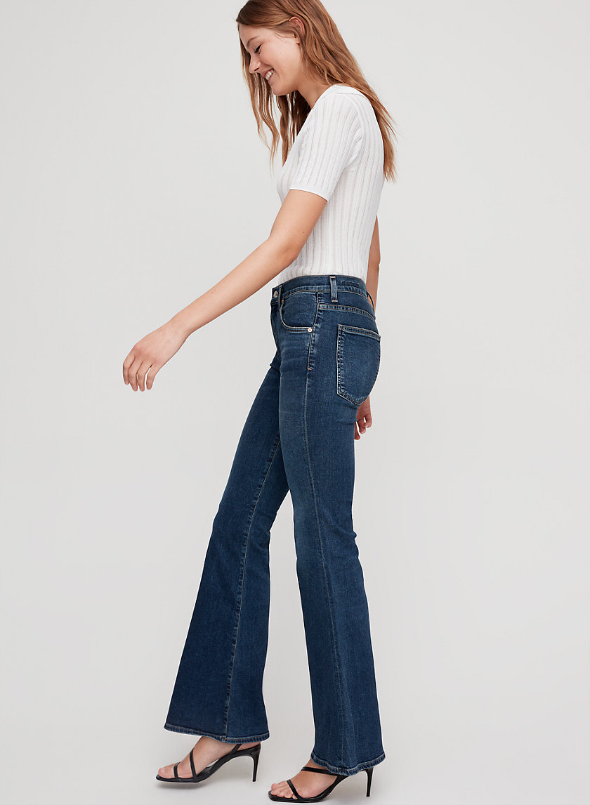 CHLOE DEVOTION - 70s-inspired flared jean
