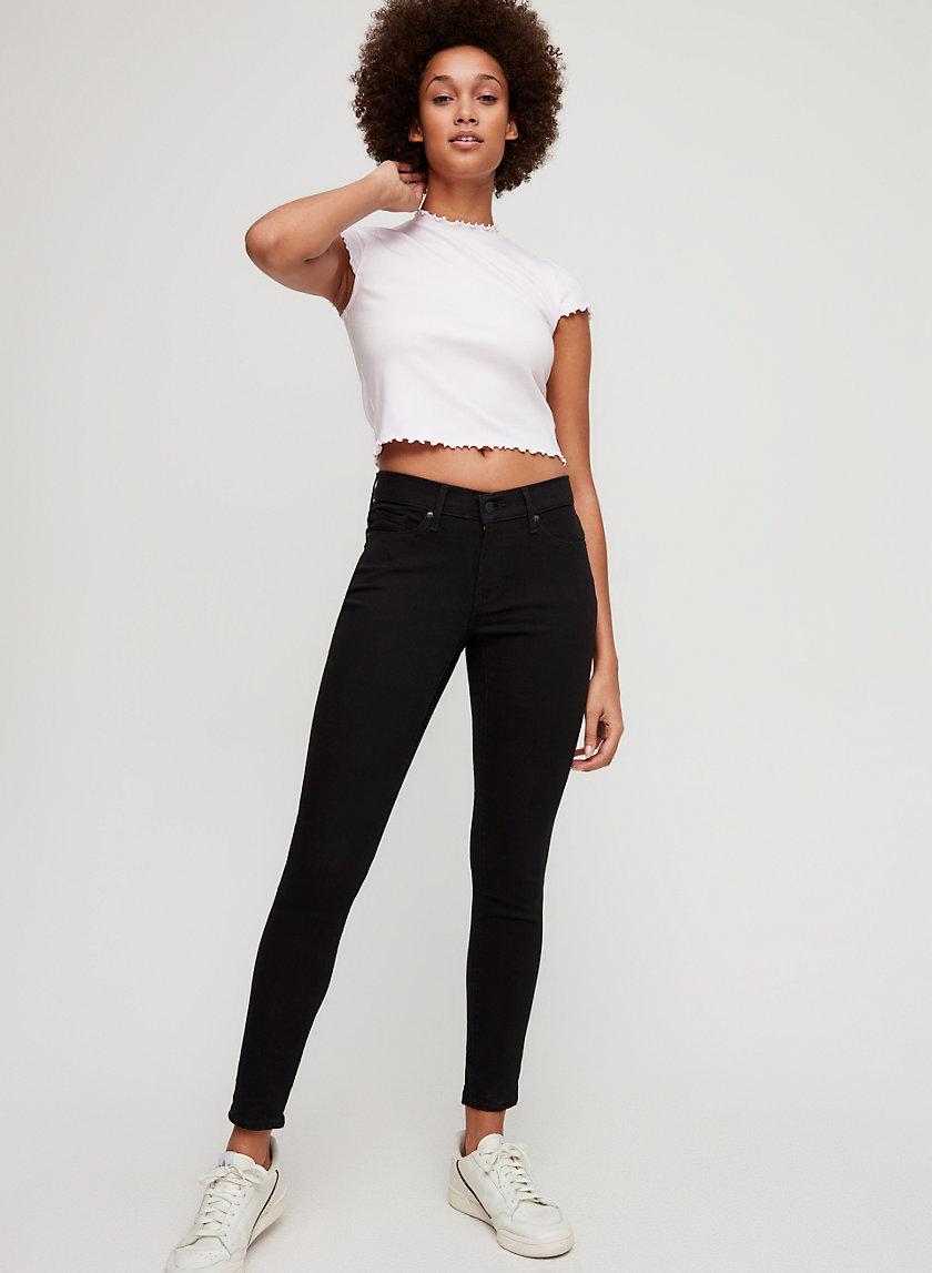 CURVY SKINNY - Mid-rise skinny jean