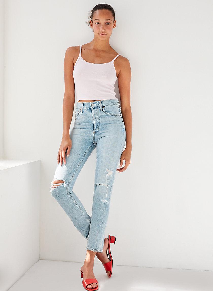 JAMIE RESOLUTION - High-waisted skinny jean