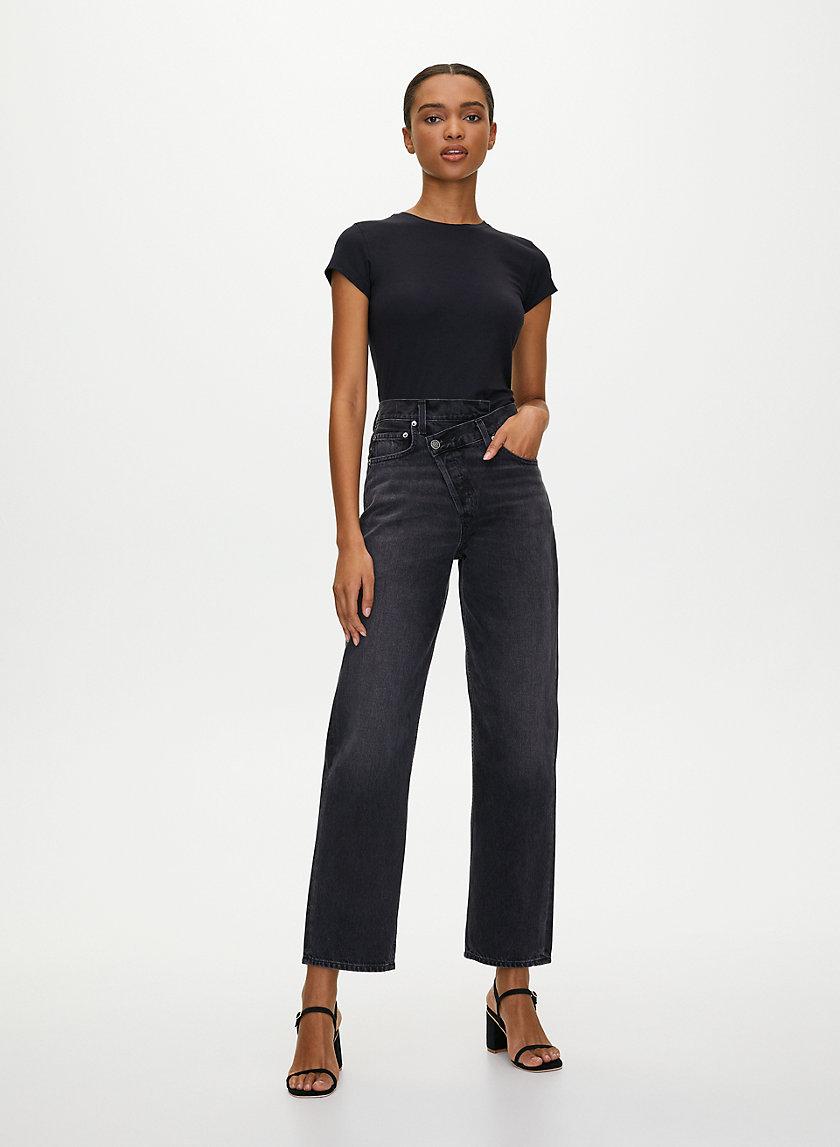 CRISS CROSS JEAN - Slouchy jeans