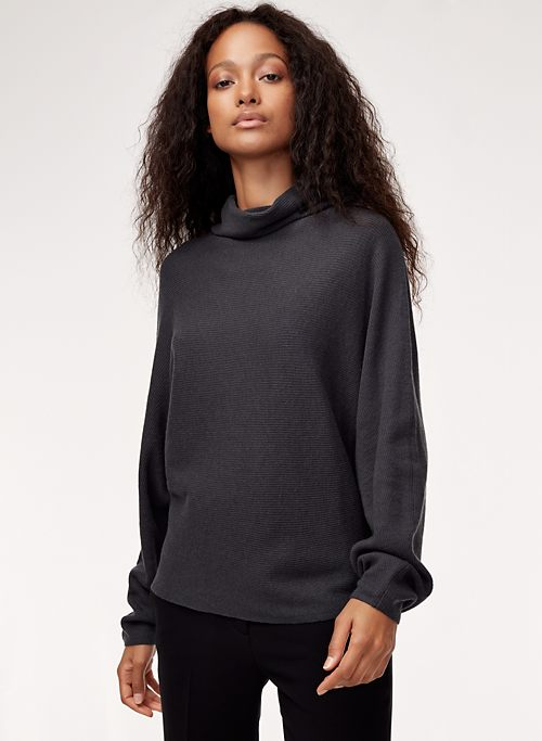 61855a3b560 ANDY SWEATER - Oversized turtleneck sweater
