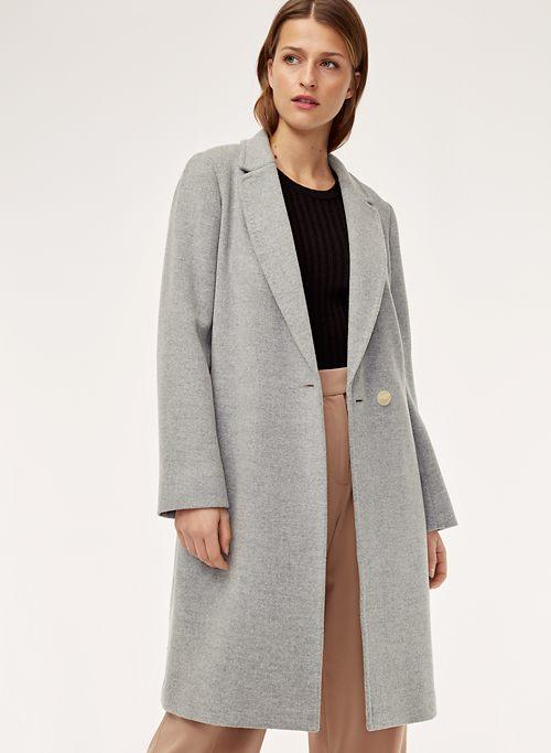 34884b886327 STEDMAN WOOL COAT - Mid-length, wool blend coat