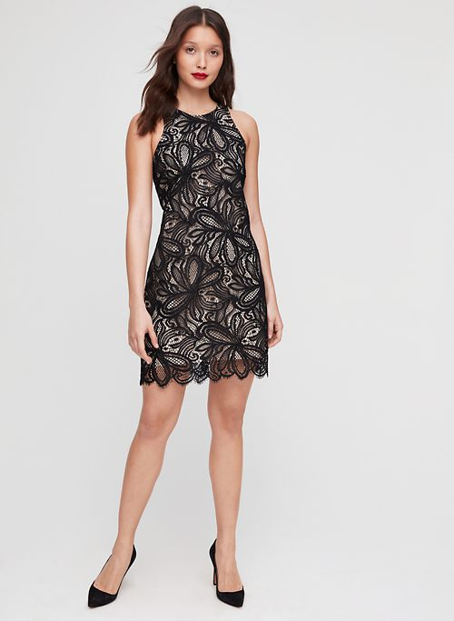2db33b6958e1 HENRY DRESS - Tailored, floral-lace mini dress