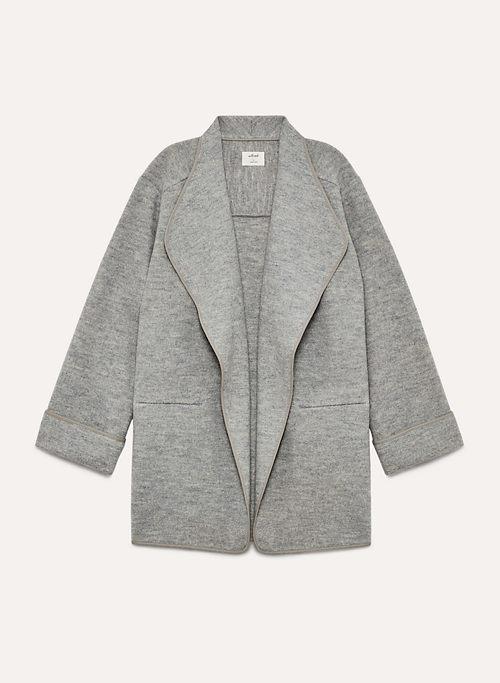 CHANDELLE JACKET - Softly structured wool jacket