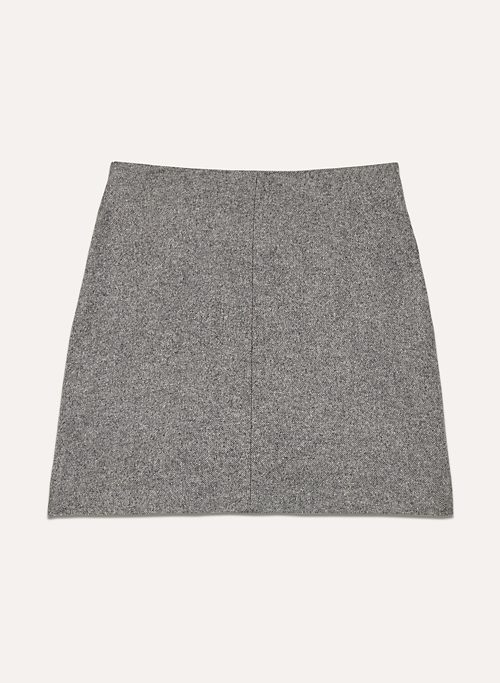 ESSONNE SKIRT - Wool-blend mini skirt with pockets