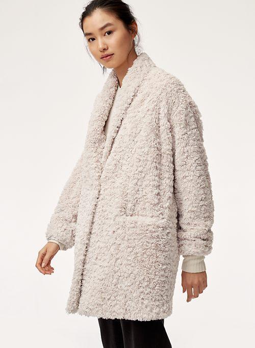 e1a4019126f PLUSH JACKET - Cocoon sherpa jacket. 4 Colours