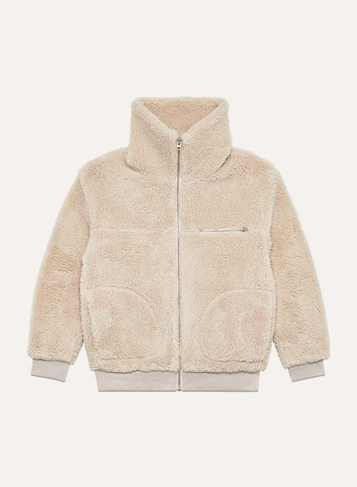 THE  TEDDY JACKET - Zip-up sherpa jacket