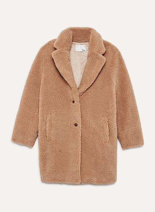 THE TEDDY COCOON - Cozy sherpa cocoon coat