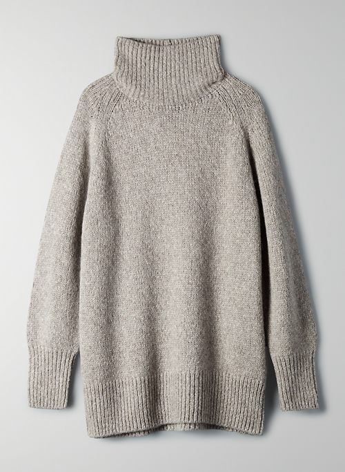 DAY OFF TURTLENECK SWEATER | Aritzia