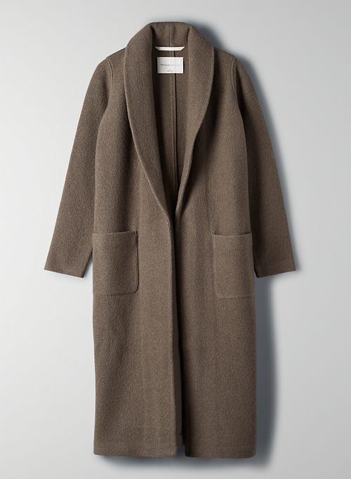 LUXE LOUNGE WOOL JACKET | Aritzia