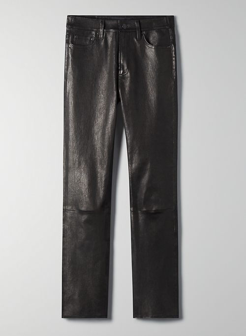 THE YOKO LEATHER SLIM - Leather pants
