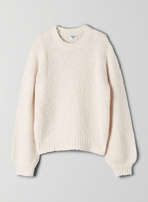 LENNIE SWEATER - Alpaca crew-neck sweater