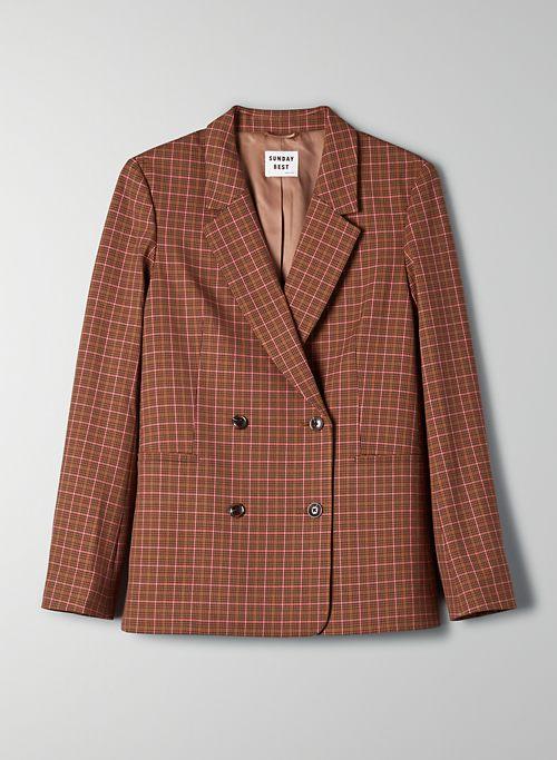 FRESHMAN CHECK BLAZER - Tailored plaid blazer