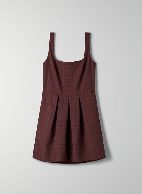 TASHA CHECK DRESS | Aritzia