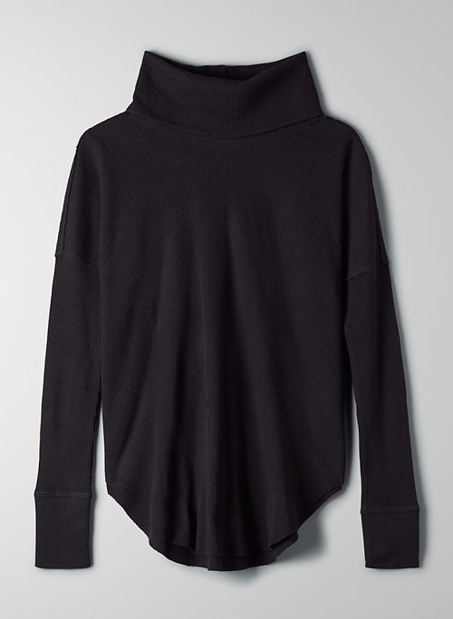 THERMAL COWLNECK - Long-sleeve, cowl-neck thermal