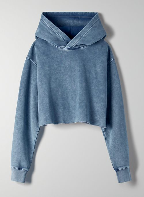 PERFECT CROPPED HOODIE | Aritzia