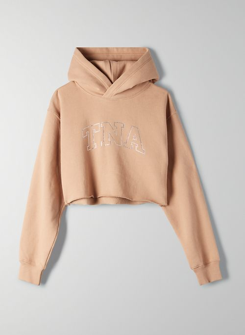 THE PERFECT CROPPED HOODIE | Aritzia