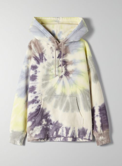 BOYFRIEND HOODIE - Oversized tie-dye hoodie