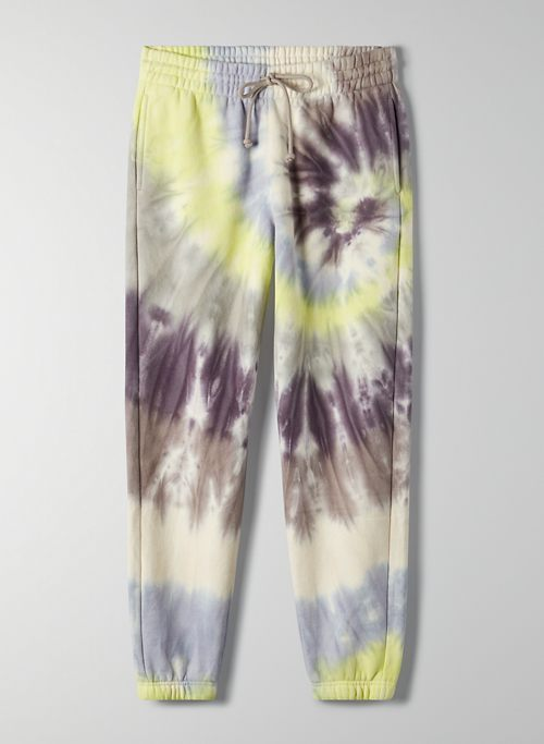 BOYFRIEND SWEATPANT - Tie-dye slim joggers