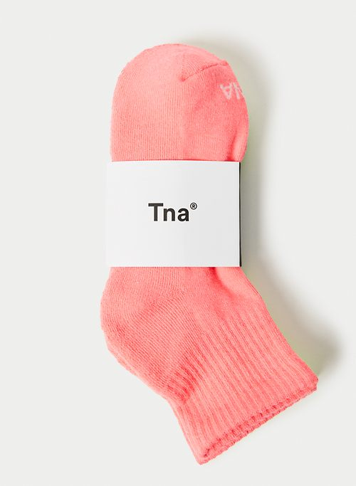 LOGO HIGH ANKLE SOCK | Aritzia
