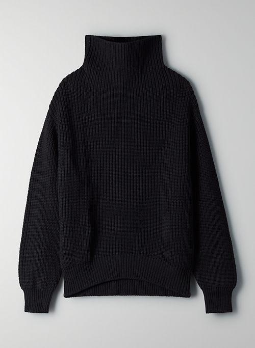 MONTPELLIER TURTLENECK - Merino-wool turtleneck sweater