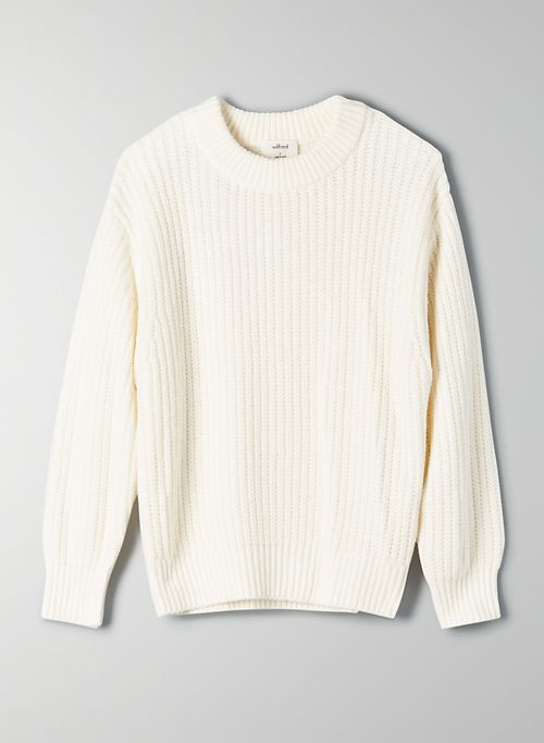 ESSENTIAL CHENILLE SWEATER | Aritzia