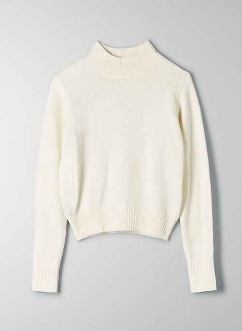 CORTETA SWEATER - Lightweight mock-neck sweater