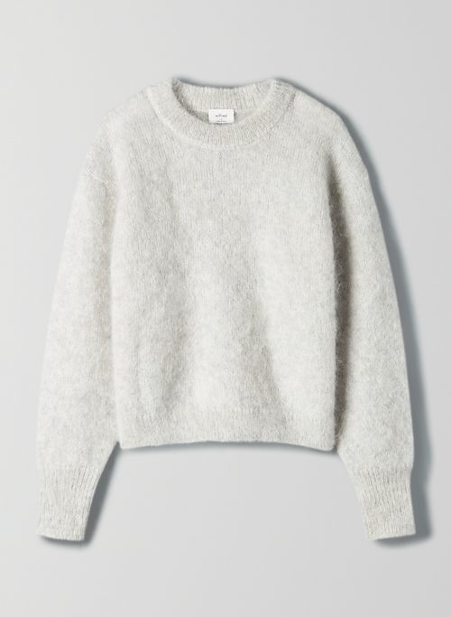 SERMENT SWEATER - Oversized crewneck sweater